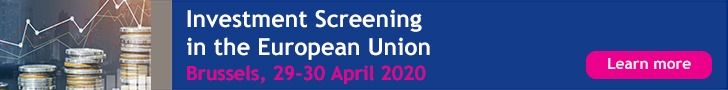 ERA Investment Screening in the European Union, Brussels, 29-30 April