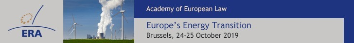 ERA Conference: Europe's Energy Transition: Brussels 24-24 Oct