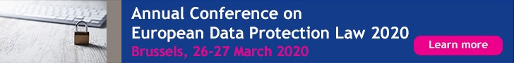 ERA Data Protection Law 2020, Brussels, 26-27 March