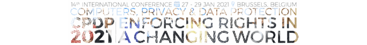 CPDP 2021 - Privacy And Data Protection Conference - 27-29 January, Brussels