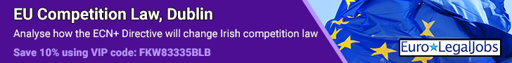 EU Competition Law  Dublin 11 March 2021
