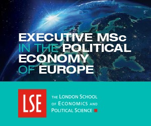 Executive MSc in Political Economy of Europe Promotion Image