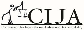 CIJA - Commission for International Justice and Accountability